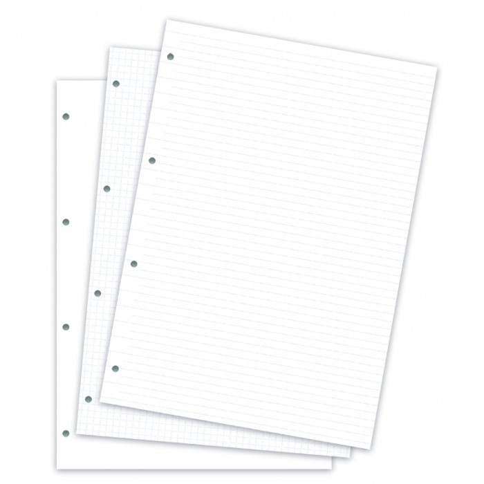 Clipbook A4 Assorted Refill Pack