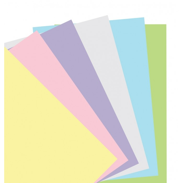 Filofax Notebook Pastell Blankt Papper Refill
