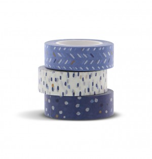 Indigo Washi Tape Set