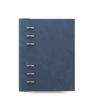 Clipbook Architexture Personal Notebook Blue Suede