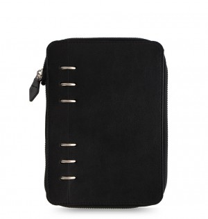 Clipbook Classic Monochrome Personal Zip Notebook