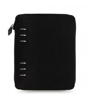 Clipbook Classic Monochrome A5 Zip Notebook