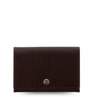 Chester Business Card Holder Brown