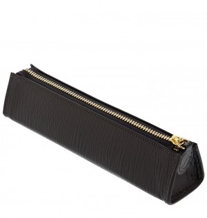 Chester Zip Pen Case Black