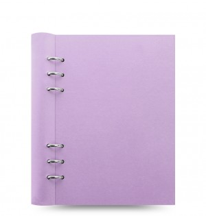 Clipbook Classic Pastels A5 Notebook Orchid