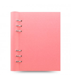 Clipbook Classic Pastels A5 Notebook Rose