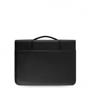 Metropol Zipped Folio med handtag Black