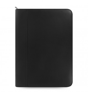 Metropol Zipped Folio With Calculator Black