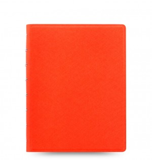 Filofax Notebook Saffiano A5 Bright Orange
