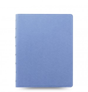 Filofax Notebook Saffiano A5 Vista Blue