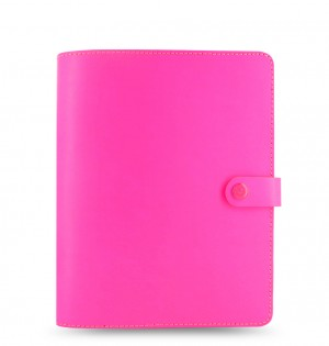 The Original A5 Organiser Fluoro Pink 2021