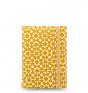 Filofax Notebook Impressions Pocket Yellow/White