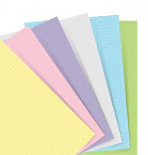 Filofax Notebook Pastell Dotted Journal Refill