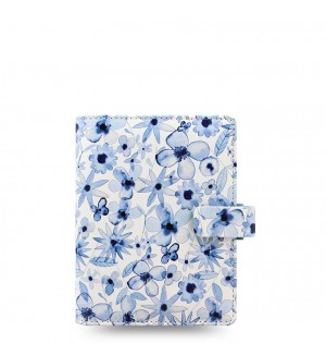Patterns Indigo Floral Pocket Organiser
